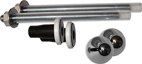 Fominaya 0111564019 Kit de 2 tornillos de fijación para inodoro ...