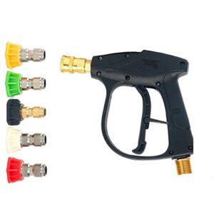 FreeTec - Pistola de lavadora máxima de 3000 PSI con 5 ...