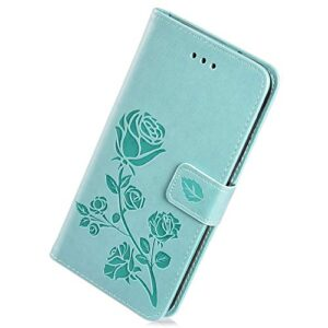 Funda Herbests compatible con Huawei Honor 8A Funda para pie ...