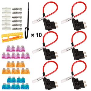 Fusible de circuito TOOHUI de 6 piezas, circuito de soporte de fusible adicional de 32 V ...