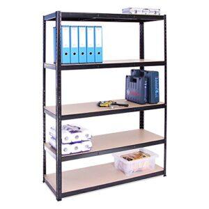 G-Rack Garaje Rack de almacenamiento 5 estantes, 180 ...