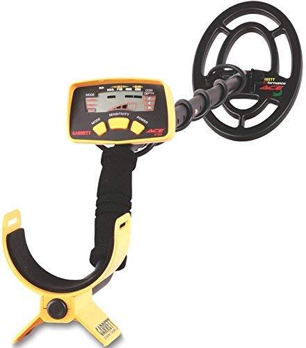 GARRETT ACE 150 - Detector de metales, negro, amarillo