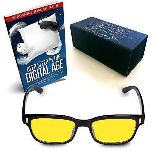 Gafas protectoras azules - Gafas retro para computadora