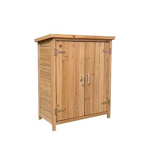 Gardiun KNH1098 - Armario exterior de madera ABBY ...