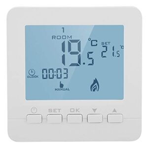 Garosa 5A Smart Thermostat Pantalla LCD digital inalámbrica ...