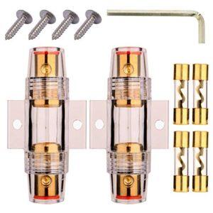 Gebildet Portafusibles en línea AWG calibre 4/8 2 piezas AGU con ...