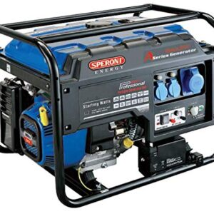 Generador eléctrico de gasolina speroni LC 6500d-a 230 V 50 ...