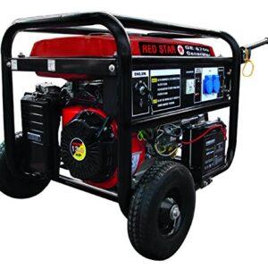 Generadores Mosa 5311030 Red Star-GE-6700, motor de gasolina ...