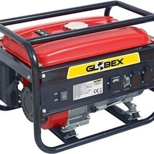 Globex - Generador de corriente de gasolina 4 tiempos 4 kW / 5 ...