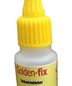 GoldenFix - Pegamento industrial (20 g) Se pega muy duro y ...