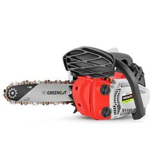 Greencut GS2500 10 - Motosierra de gasolina, 25.4cc - 1.4cv, ...