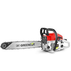 Greencut GS6200 20 - Motosierra de gasolina, 62cc - 3,8cv, e ...