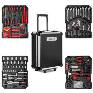 Greencut TOOLS-819 - Juego de herramientas (819 piezas), maletín ...