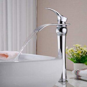 Grifo monomando para baño Auralum Waterfall, función de ...