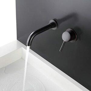 Grifo para lavabo de pared Kelelife para baño y cocina, ...