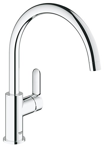 Grohe BauEdge - Kitchen mixer tap for installation and ...
