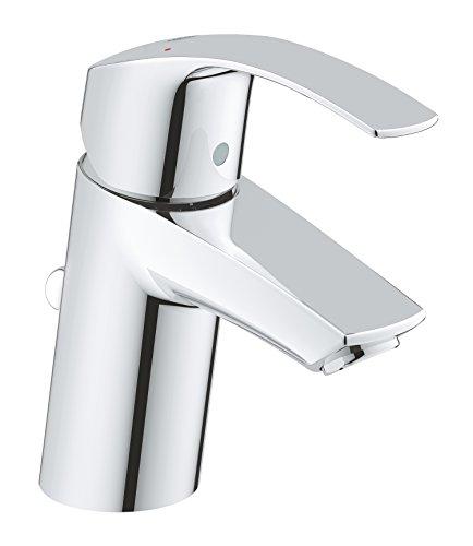 Grohe Eurosmart - Grifo para lavabo con desagüe automático, ...