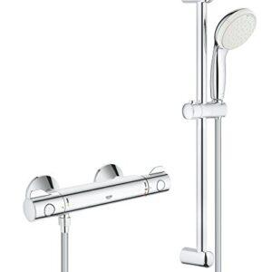 Grohe Grohtherm 800 - Set de ducha con termostato para ...