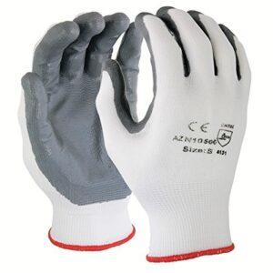 Guantes de seguridad Azusa Safety N10500, nylon, extra grande, blanco ...