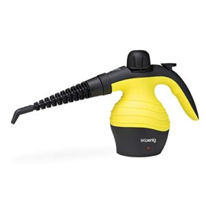 H.Koenig NV60 Compact Steam Cleaner, 1000W Steamer, 4, ...