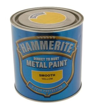 HAMRITE Pintura Hammerite Metal Soft 250ml Amarillo
