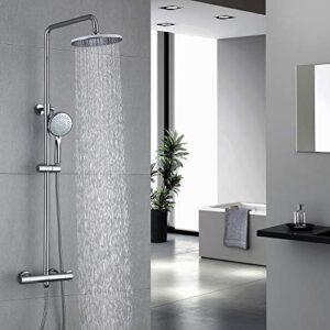HOMELODY Columna de ducha termostática 40ºC Altura 829mm-122 ...