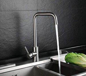 HOMFA Kitchen Faucet - Grifo para lavabo giratorio de 360 °