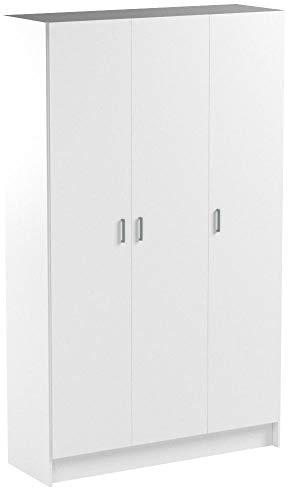 Habitdesign 007143O - Armario multipropósito de tres puertas, color ...