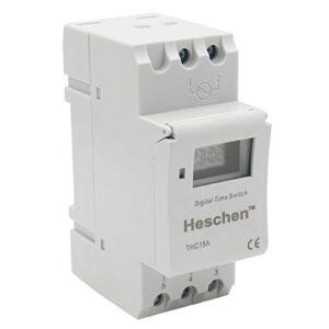 Heschen, interruptor de relé de temporizador semanal