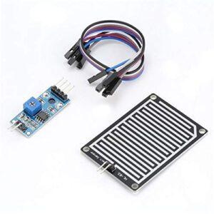HoganeyVan 5V LED Sensor de lluvia Detección de gotas de lluvia ...