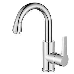 Homelody Kitchen Faucet 360 ° Swivel Bubble extraíble ...