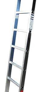 Homelux 825011 Escalera de aluminio simple, 2 m, 7 peldaños, 4 ...