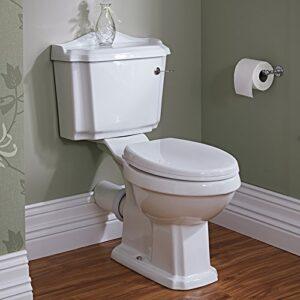 Hudson Reed Pack de WC completo con inodoro cisterna con sal ...