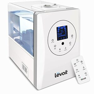 Humidificador ultrasónico Levoit 6L Hot Steam Baby y ...