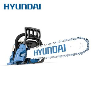 Hyundai HYC6220 - Motosierra de gasolina con 2 cadenas y ...