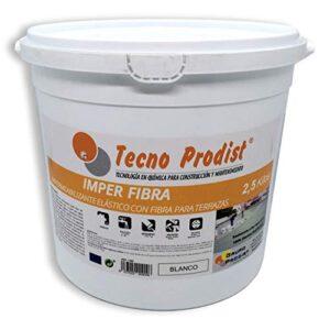 IMPER FIBRA de Tecno Prodist - 2,5 Kg (BLANCO) Pintura Terra ...