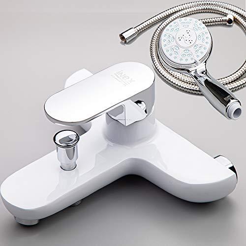 INEX Europa 99002 BSW - Grifo mezclador para bañera y ducha, ...