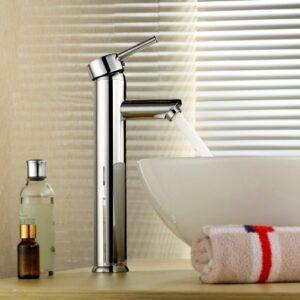 Inchant - Grifo mezclador monomando para lavabo moderno, lavabo alto ...
