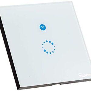 Interruptor Sonoff Wifi, Interruptor de luz táctil Wi-Fi, Te ...