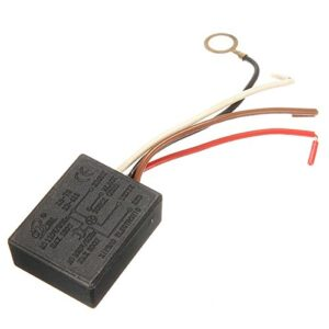 Interruptor de control del sensor táctil Bluelover Ac 220V 3 vías ...