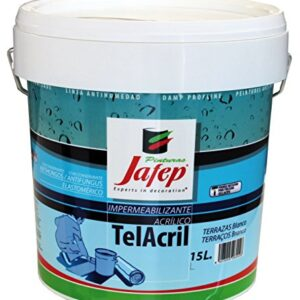 JAFEP Telacril Transparente 15 L.