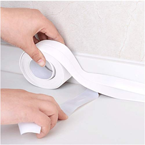 Janolia - Cinta de sellado autoadhesiva para baño y pared, ...
