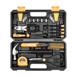 Juego de herramientas de 62 piezas para el kit de herramientas para el hogar