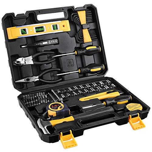 Juego de herramientas para el hogar 78 piezas, en un maletín para ...