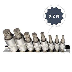 Juego de llaves de vaso de dientes múltiples XZN I M4 M5 M6 M8 M10 M ...