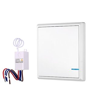 KKmoon Transmisor Receptor Interruptor de control remoto de CA ...