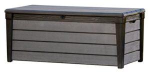 Keter - Arcón de exterior Brushwood WLF, Capacidad 454 litros, ...