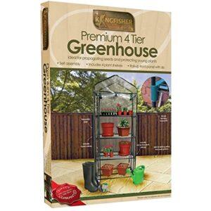 Kingfisher GHPRO Premium - Invernadero con 4 niveles, transparente ...