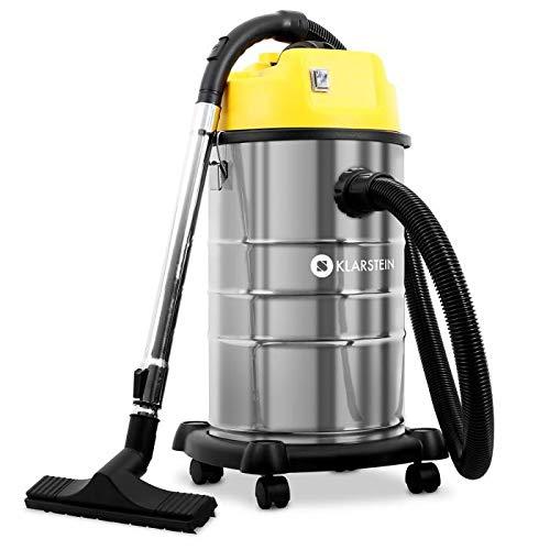 Klarstein IVC-30 - Aspiradora industrial, seca y húmeda, Do ...
