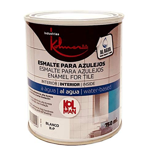 Kolmer - Esmalte acrílico para azulejos 750 ml Kolman